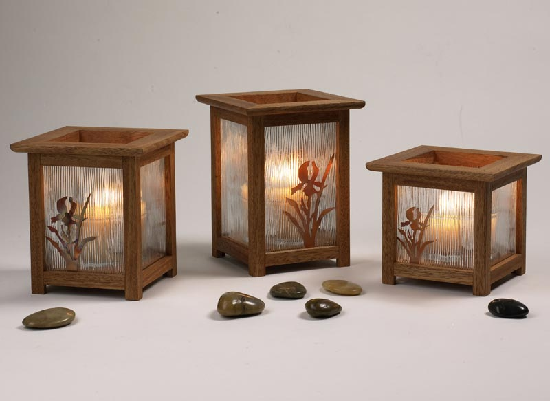 Arts Amp Crafts Candle Lanterns Woodworking Plan From Wood