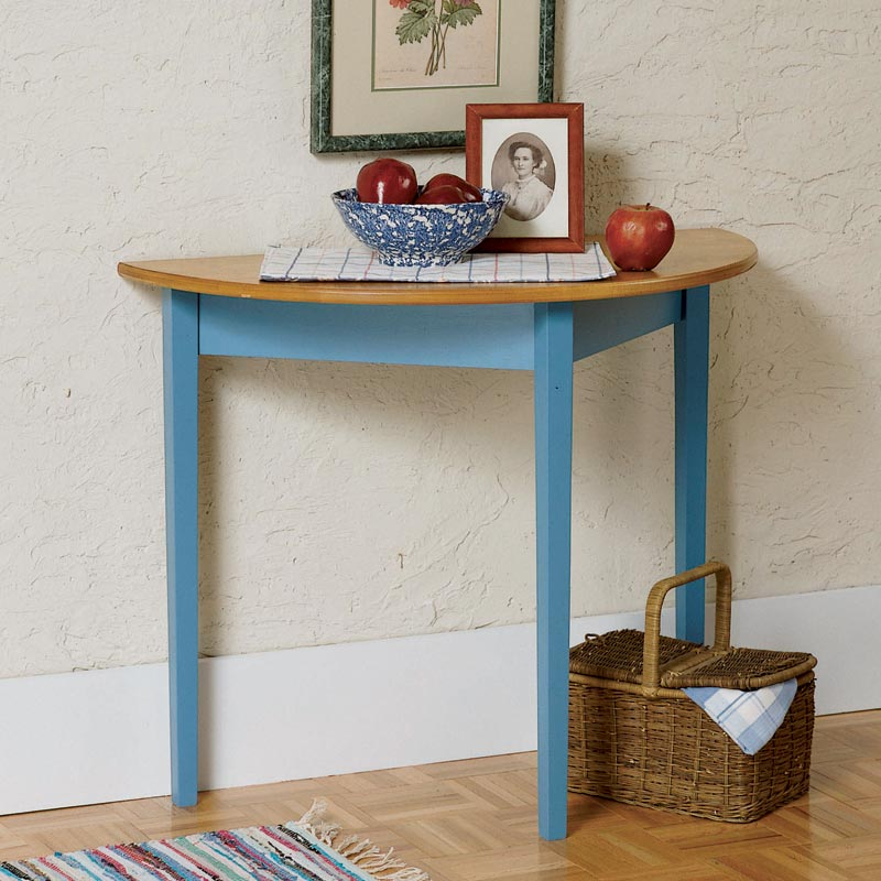 Half Round Entry Hall Table