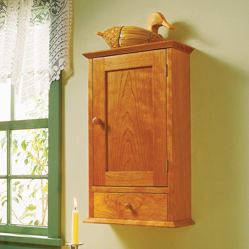 shaker cabinet woodworking plan from wood magazine