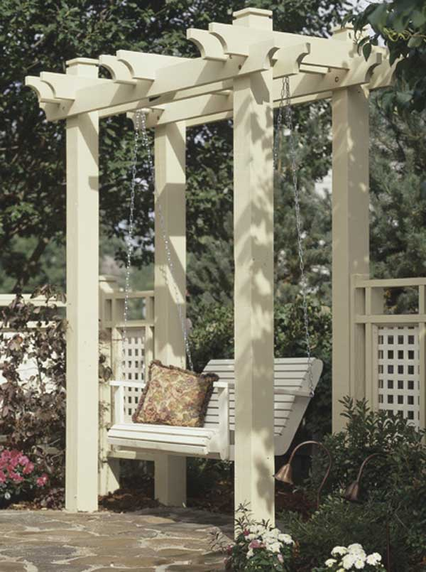 Arbor Woodworking Plan From Wood Magazine