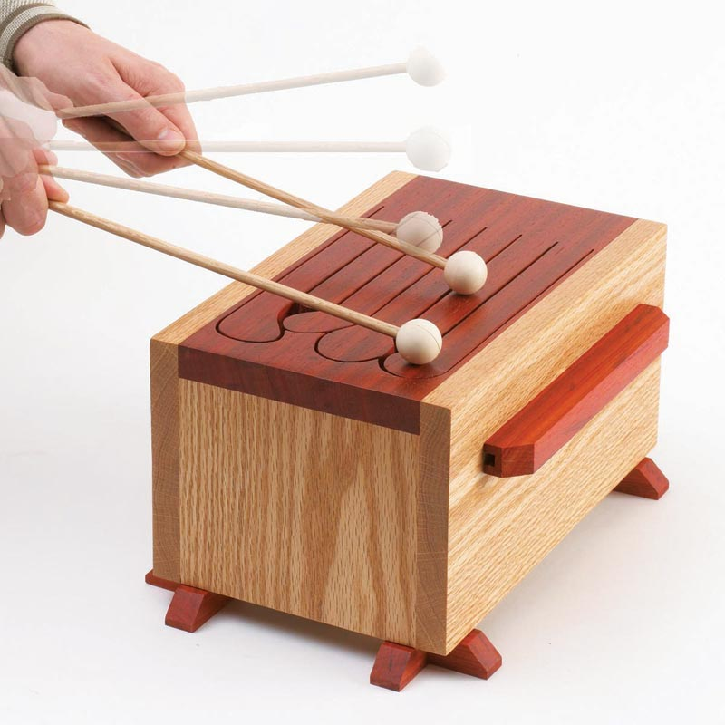 Tone-of-fun Tongue Drum Woodworking Plan From WOOD Magazine