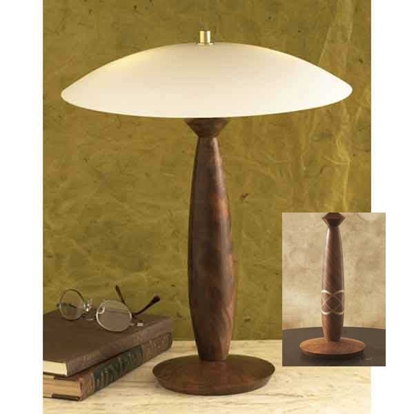 Turned lamp woodworking plan from wood magazine for Wood floor lamp plans