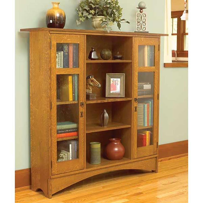 Mission Bookcase Woodworking Plan From Wood Magazine
