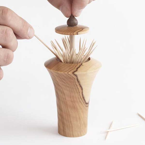 Pop up toothpick dispenser woodworking plan from wood magazine - Tooth pick dispenser ...