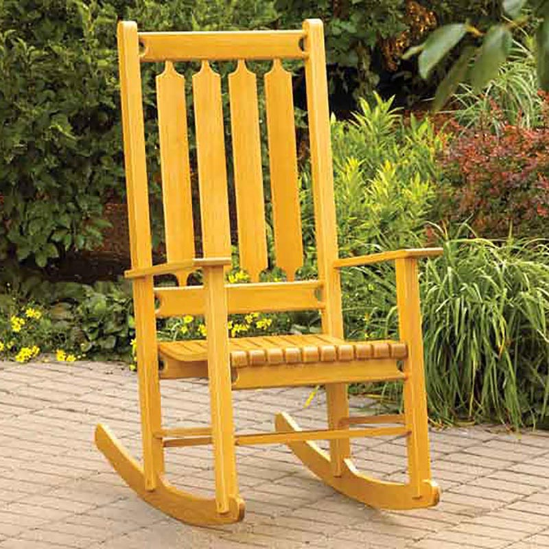 ... Woodworking Plans / Furniture / Seating / Classic Rocking Chair Rocker