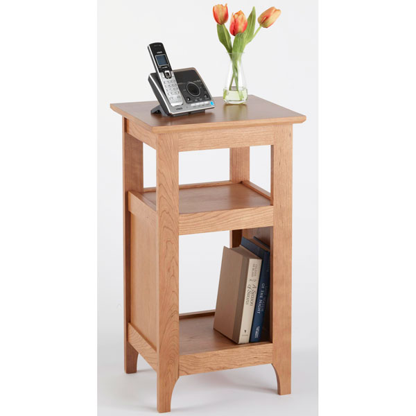 Wooden Phone Furniture ~ Telephone stand woodworking plan from wood magazine