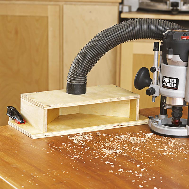 Dual Purpose Dust Chute Woodworking Plan From Wood Magazine
