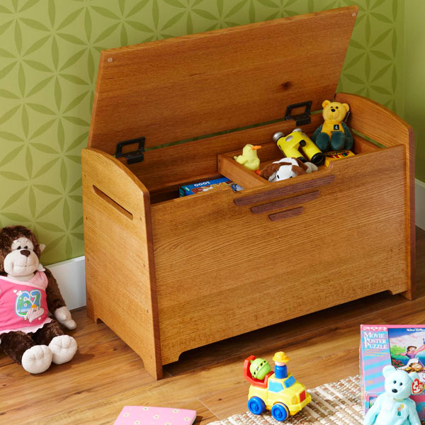Best Toy Boxes And Chests For Kids : Toy box blanket chest woodworking plan from wood magazine