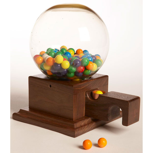 Glass Globed Gumball Machine Woodworking Plan From Wood Magazine