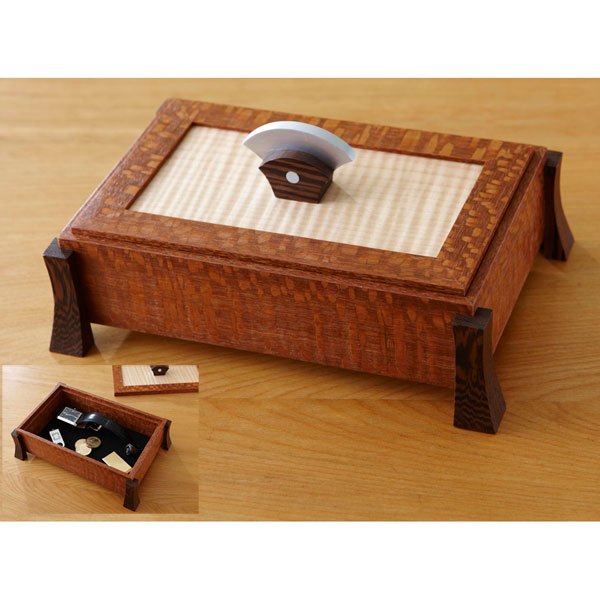 Keepsake Box Woodworking Plan from WOOD Magazine