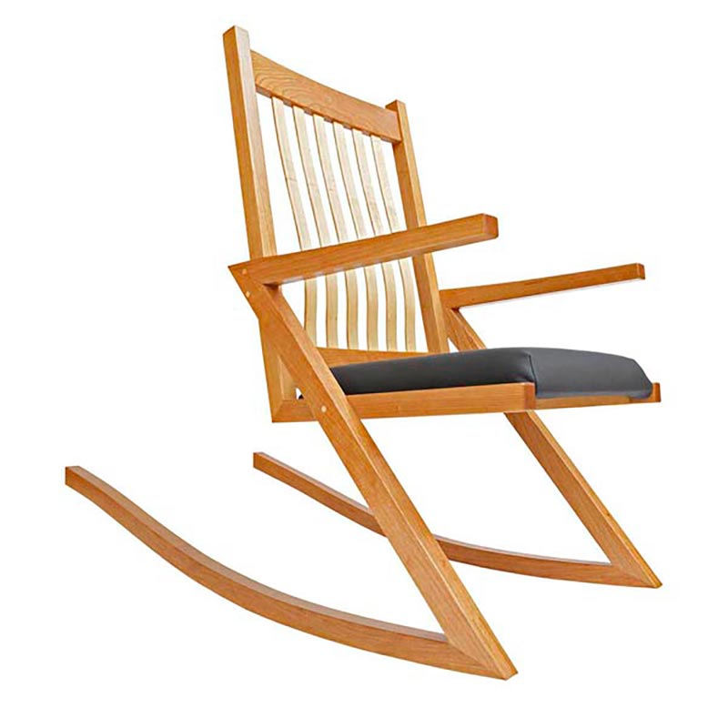 Zigzag rocker woodworking plan from wood magazine for Rocking chair design plans