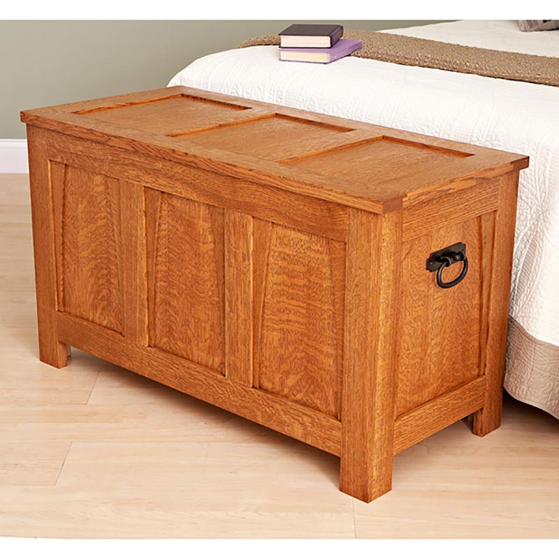 Wood Blanket Chest ~ A beauty of blanket chest woodworking plan from wood