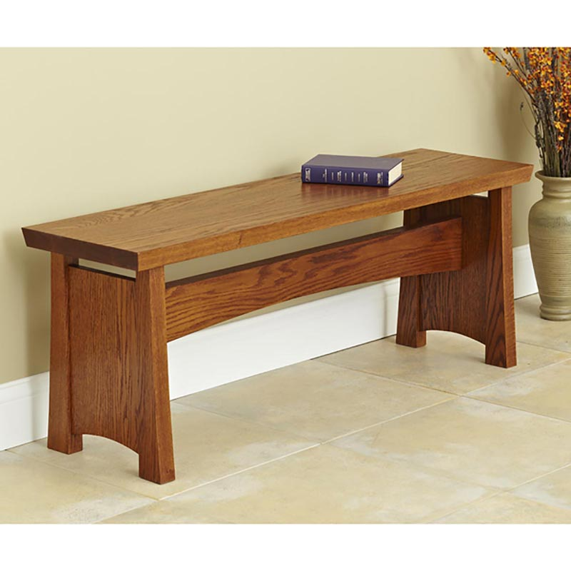 Seating Bench Woodworking Plan From Wood Magazine