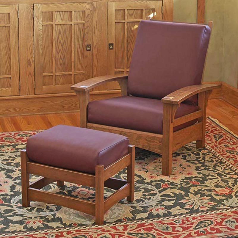 Morris chair and ottoman woodworking plan from wood magazine Morris home furniture outlet