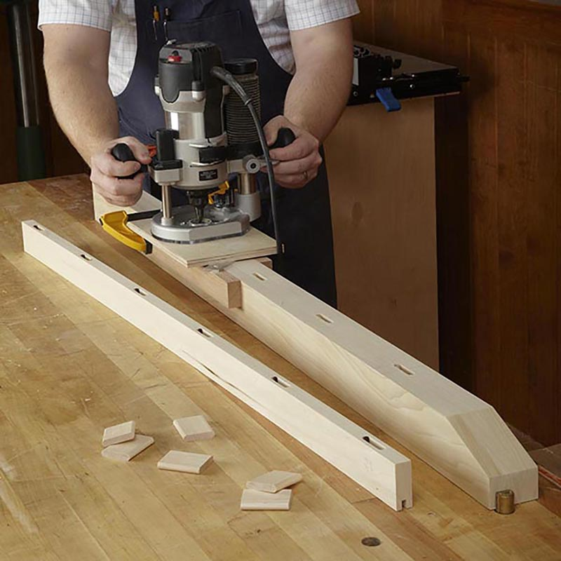 Mortising Jig Woodworking Plan From Wood Magazine