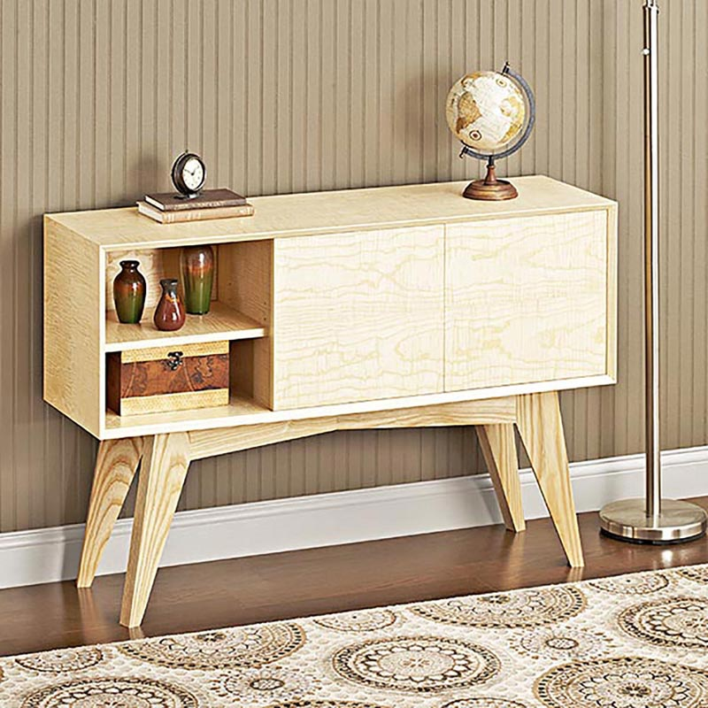 Mid century modern credenza woodworking plan from wood for Mid century modern plans