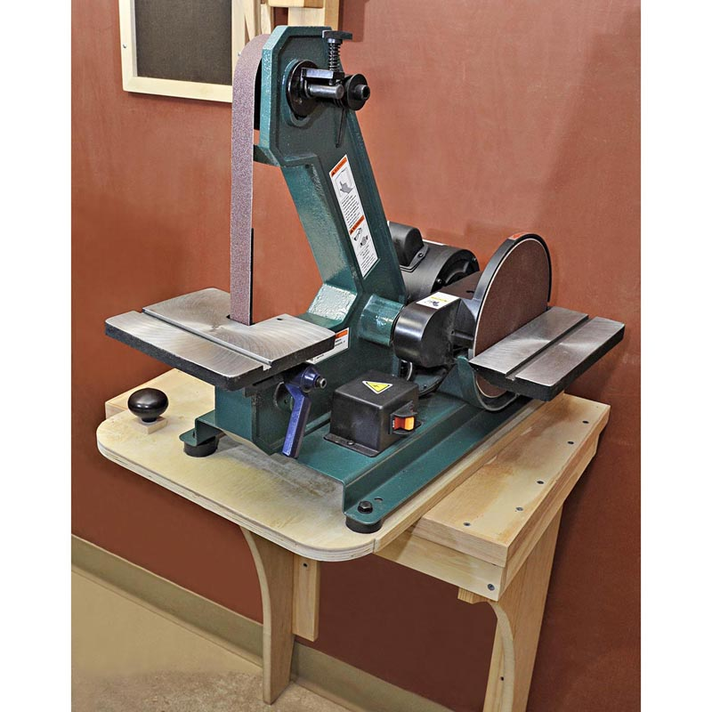 Slick Swiveling Sander Stand Woodworking Plan From Wood