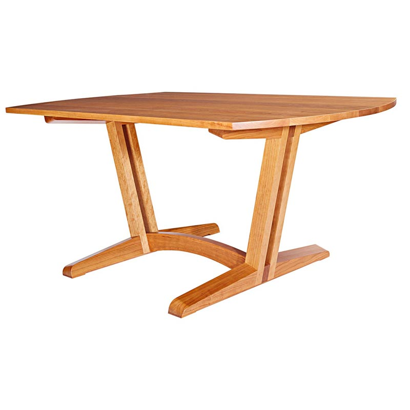 Contemporary Dining-Room Table Woodworking Plan From WOOD