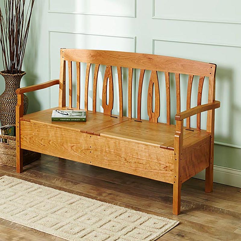Blacker House Bench Woodworking Plan From Wood Magazine