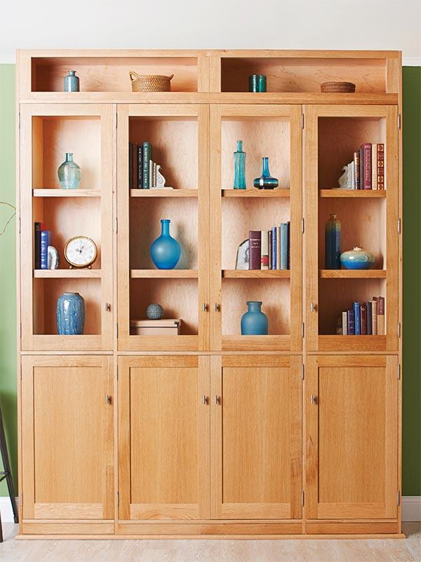 Wood Bookshelf Plans ~ Hidden door bookcase woodworking plan from wood magazine