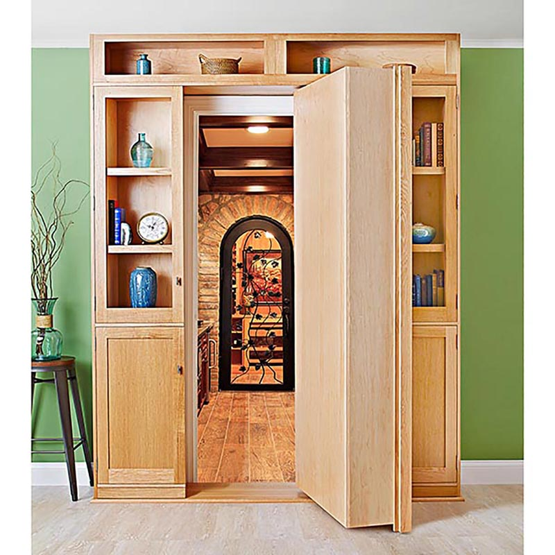 Beau Hidden Door Bookcase