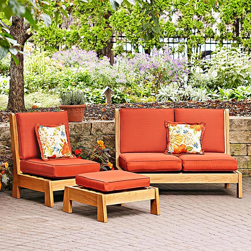 Easy-chairs Patio Set Woodworking Plan From WOOD Magazine