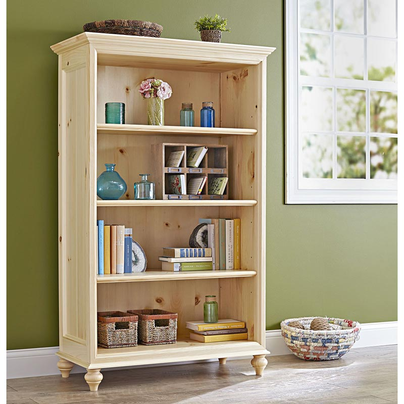 Simple And Stylish Bookcase Woodworking Plan From WOOD