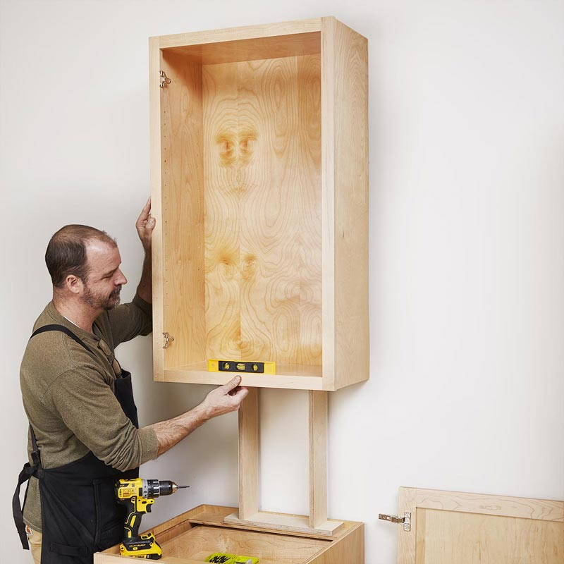 Upper Kitchen Cabinet Woodworking Plans: Upper Cabinets Made Simple Plan From WOOD Magazine