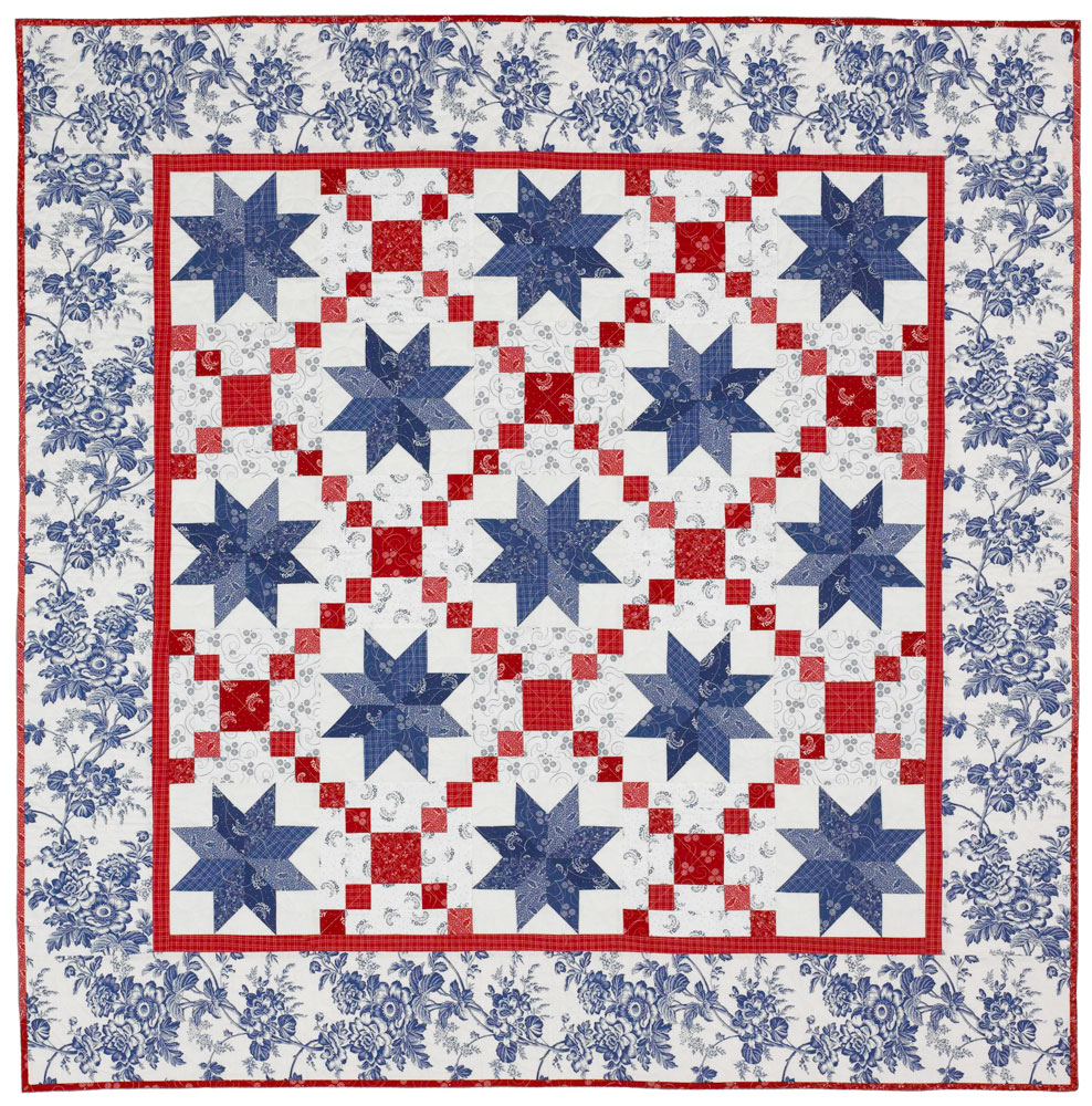 Oh My Stars Quilting Pattern from the Editors of American Patchwork & Quilting