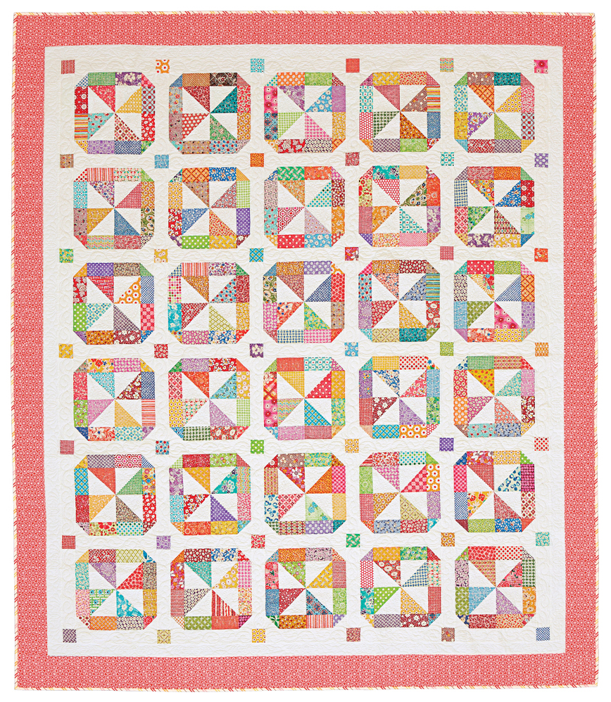 Merry Go Round Quilting Pattern From The Editors Of American