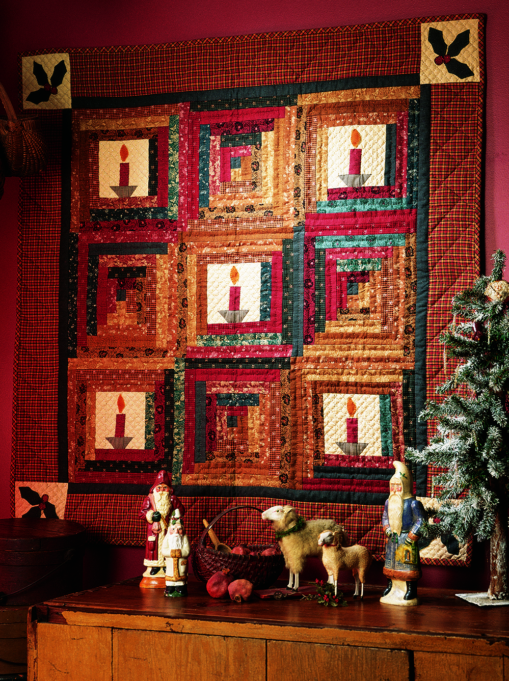Christmas by Candlelight Quilting Pattern from the Editors of ...
