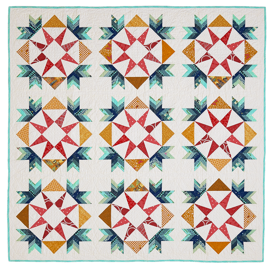 just blocks and the up go it scrappy patches patchwork are american a is bits some s different quilt border with tracy quilting set on setting together of made point pieces squares four put n triangles