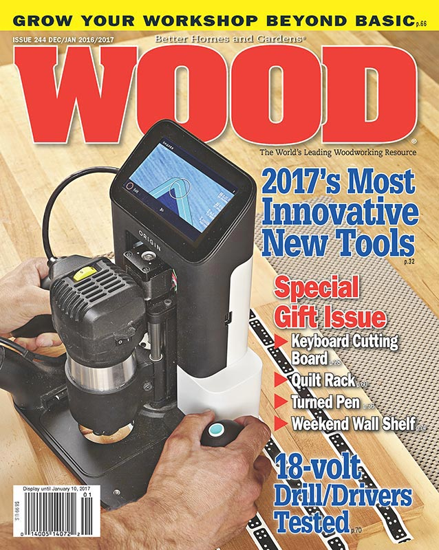 WOOD Issue December January Woodworking Plan From - Better homes and gardens wood magazine