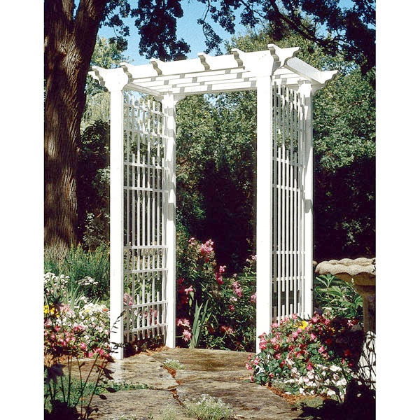 Victorian Arbor Large Format Paper Woodworking Plan From