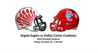 Argyle Eagles vs Dallas Carter Cowboys