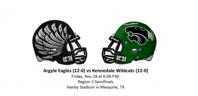 Argyle Eagles vs Kennedale Wildcats