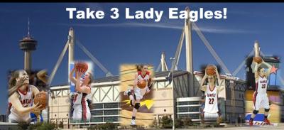 Take 3 Lady Eagles!
