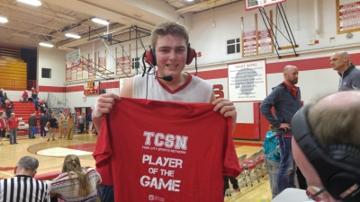 Our NorthSound Physical Therapy Player of the Game Quinton Borseth