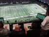 View from the WWL Radio broadcast booth