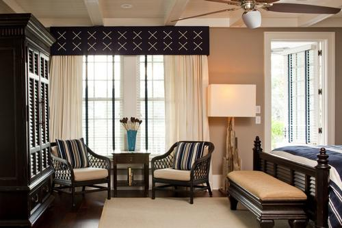 Seating area for master bedroom