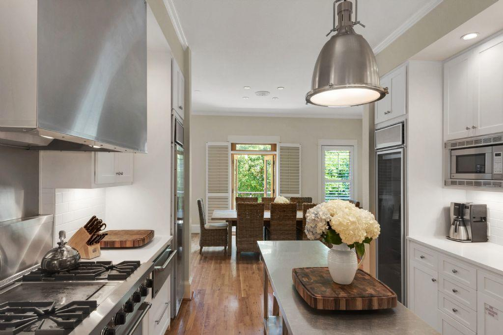 Completely renovated kitchen with stainless