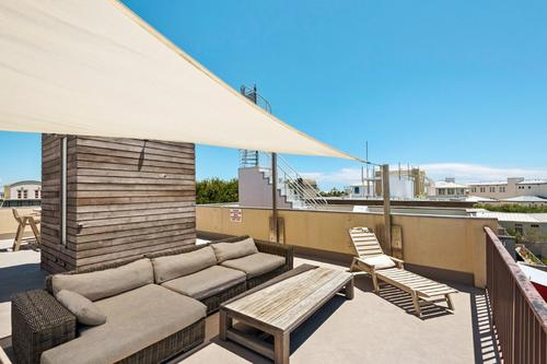 Roof top relaxation in comfort