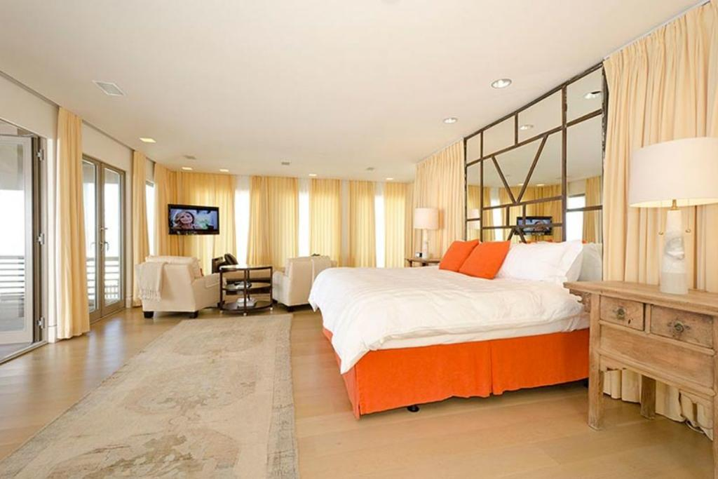 Large master bedroom on the entire third floor