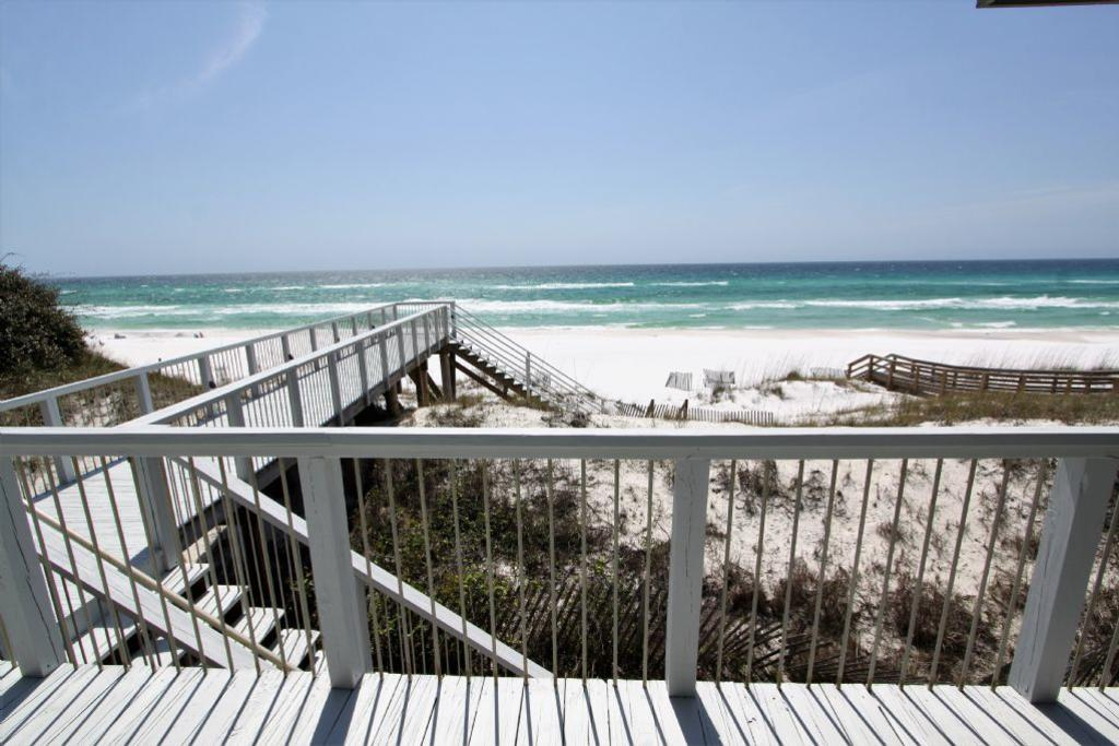 Deck and boardwalk view