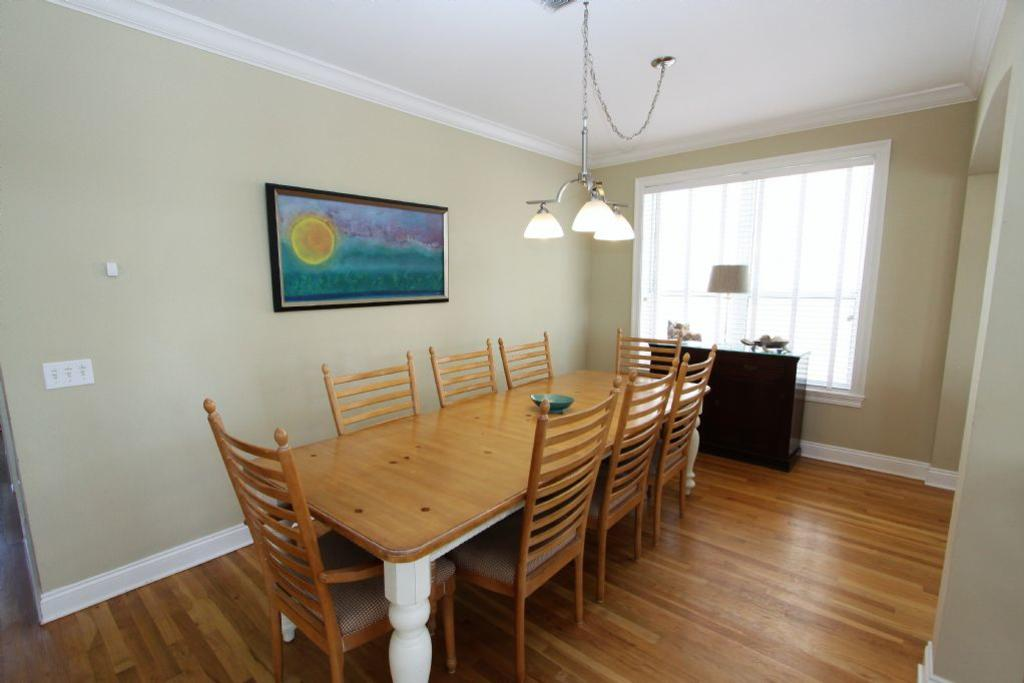 Alternate view of dining table