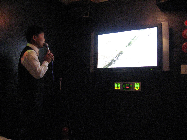North Korean karaoke