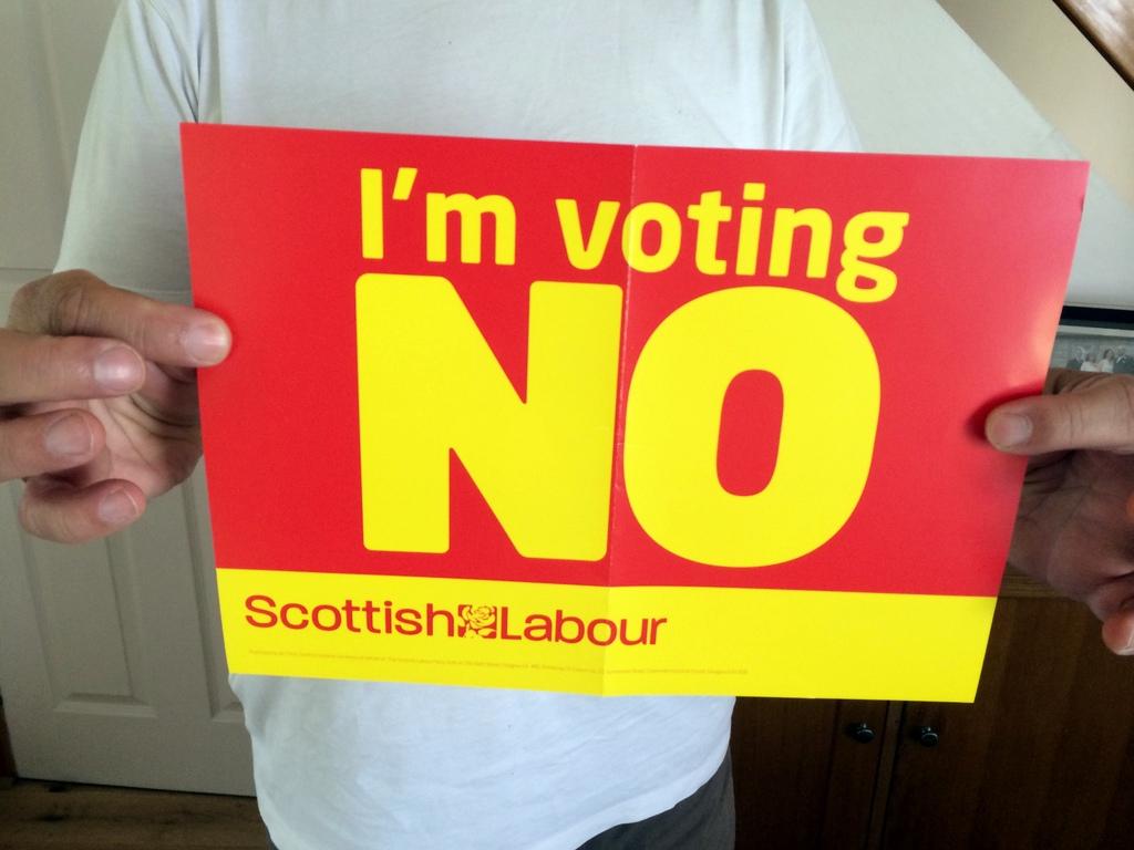 I'm voting no.