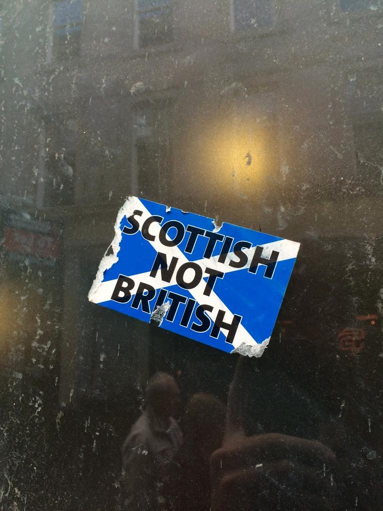 Scottish Not British