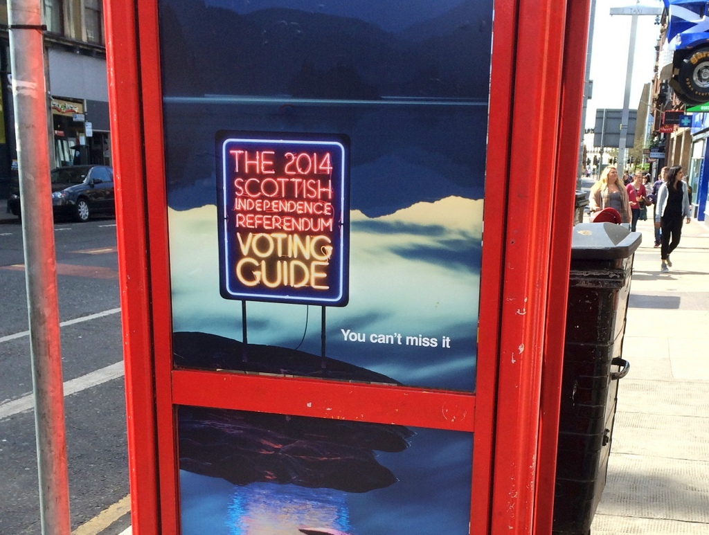 Voting Guide Phone Box