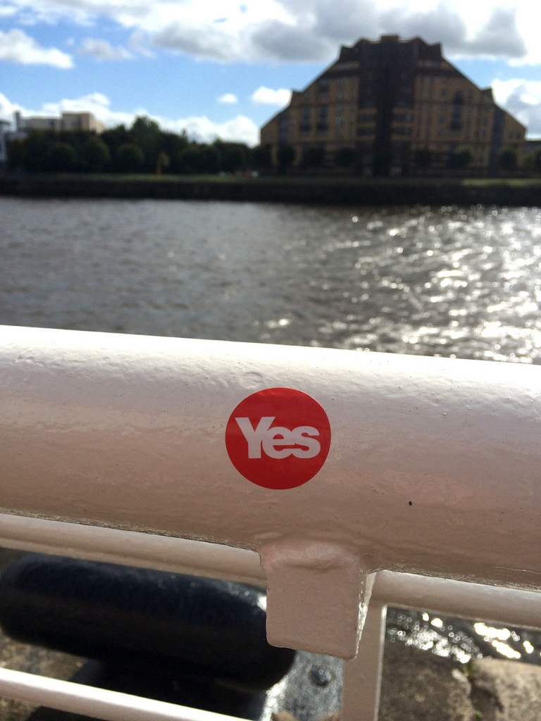 Red Yes Sticker